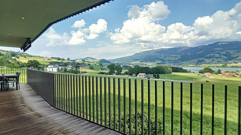Gumefens - Spacious 5.5-room flat with panoramic view